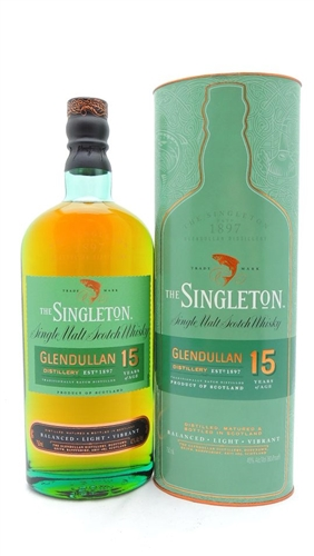 Singleton 15 Years Old Scotch Glendullan