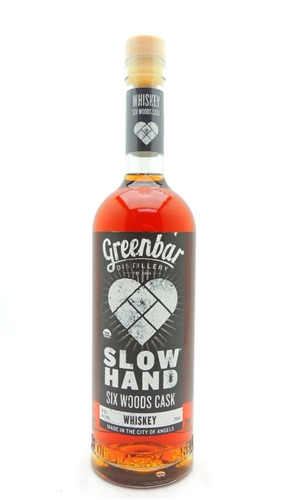 Slow Hand Six Woods Cask Strength Whiskey Greenbar Distillery