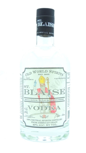 St Blaise Vodka