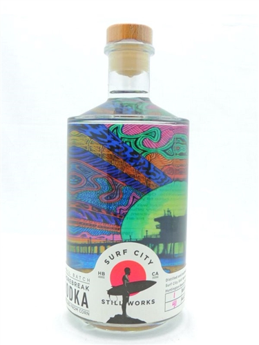 Surf City Still Works Shorebreak Vodka