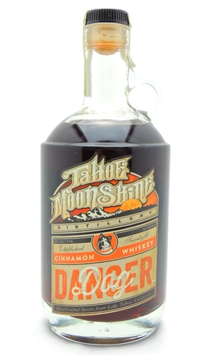 Tahoe Moonshine Distillery Danger Dog Cinnamon Whiskey