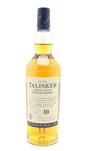 Talisker 10 Year Old Scotch Half Pint