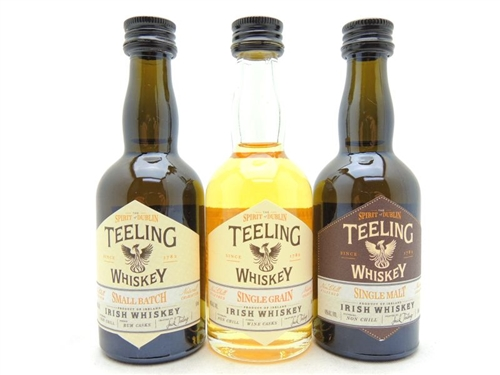 Teeling Irish Whiskey Miniature Gift Set