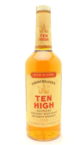 Ten High Straight Sour Mash Bourbon Whiskey