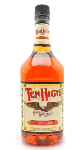 Ten High Bourbon Whiskey Half Gallon