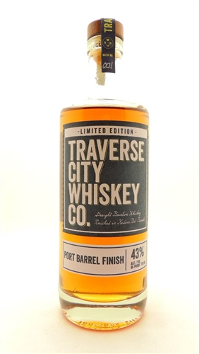 Traverse City Bourbon Whiskey Port Barrel Finish