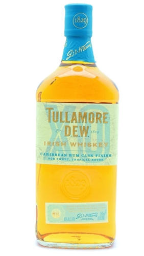 Tullamore Dew Caribbean Rum Cask Irish Whiskey