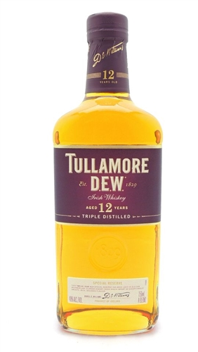 Tullamore Dew 12 Years Old Irish Whiskey