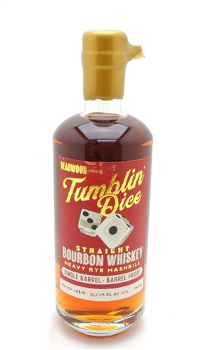 Tumblin Dice Single Barrel Proof 4 Year Old Bourbon