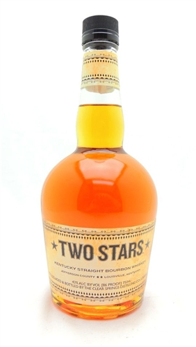 Two Stars Bourbon Whiskey