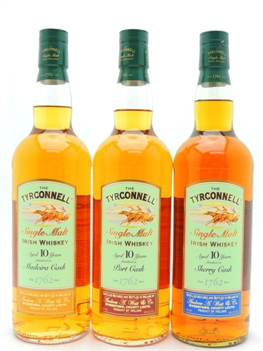 Tyrconnell Whiskey Collection