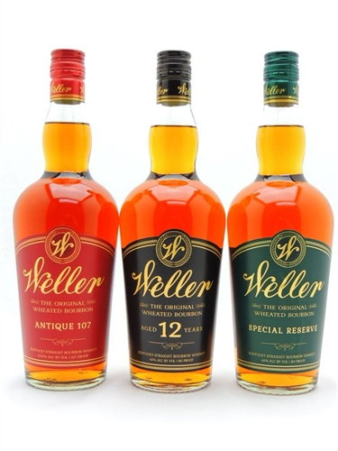 WL Weller Bourbon Whiskey Collection