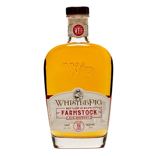 Whistle Pig Farm Stock Rye Whiskey