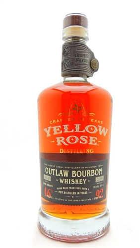 Yellow Rose Bourbon Whiskey