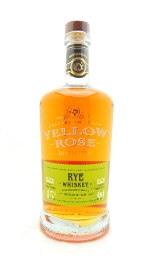 Yellow Rose Rye Whiskey