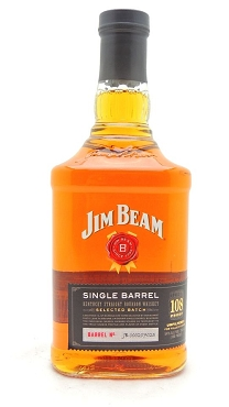 Jim Beam Single Barrel 108 Proof Bourbon