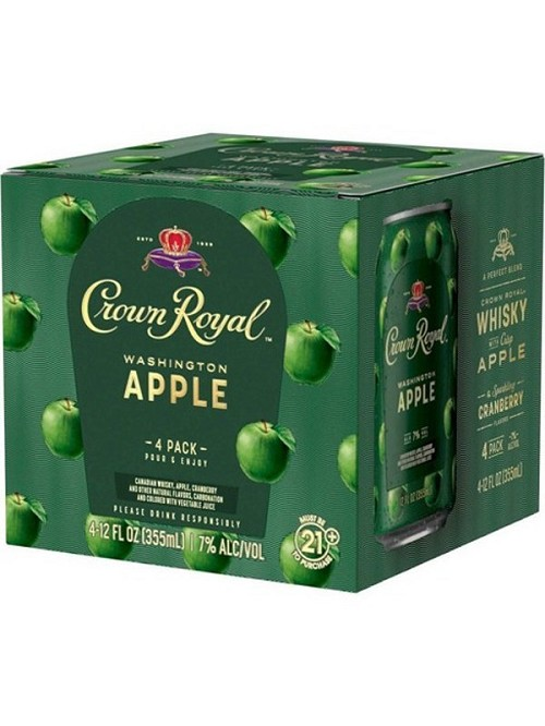 Crown Royal Apple Cocktail