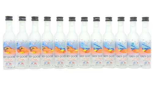 Grey Goose Orange Vodka Miniature Set