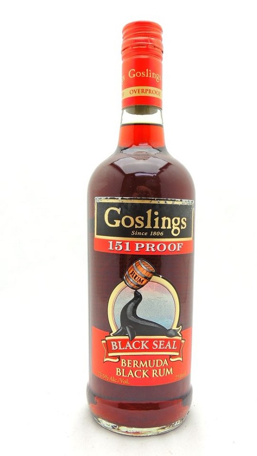 Goslings Black Seal 151 Proof Rum