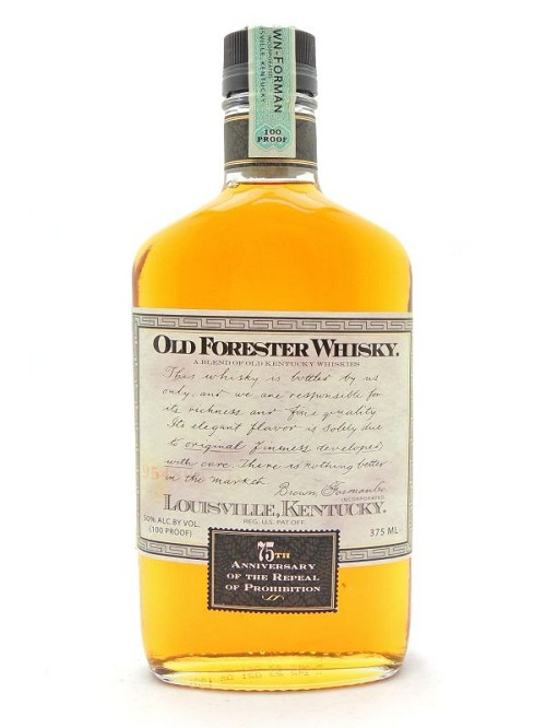 Old Forester 75th Anniversary Repeal Prohibition