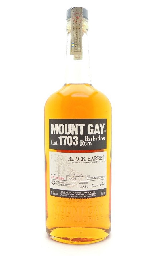 Mount Gay Black Barrel Barbados Rum