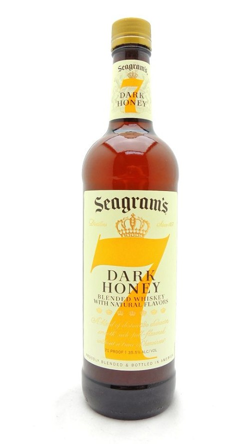 Seagram's 7 Dark Honey Whiskey