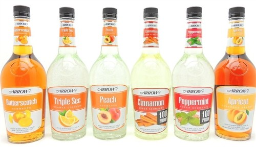 Arrow Schnapps Liqueur Collection