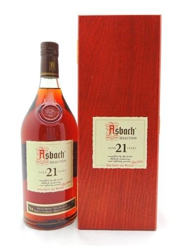 Asbach 21 Year Old Brandy