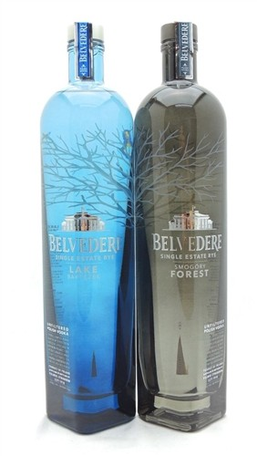 Belvedere Single Estate Vodka Collection
