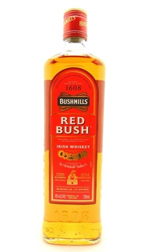 Bushmills Whiskey Red Bush Irish Whiskey