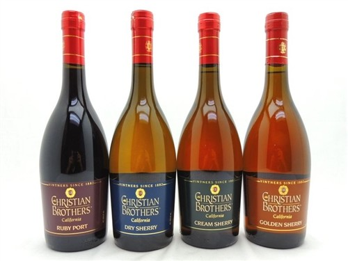 Christian Brothers Sherry Wine Collection