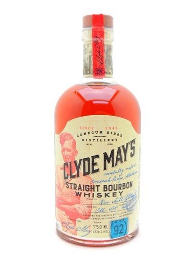 Clyde May's Bourbon Whiskey