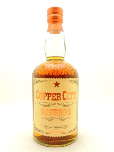 Copper City Bourbon Whiskey