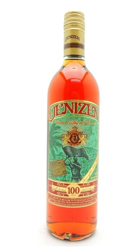 Denizen Vatted Dark Rum 100 Proof