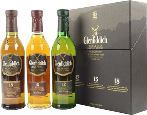 Glenfiddich Scotch Collection