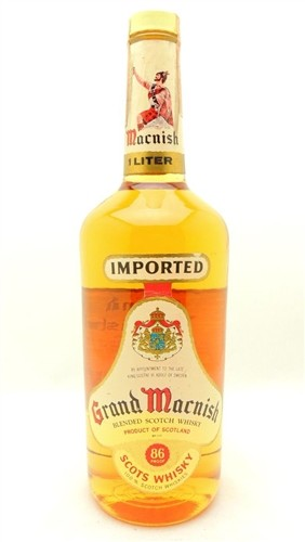 Grand Macnish Scotch Vintage Liter