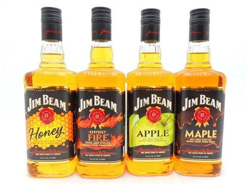 Jim Beam Flavored Whiskey Collection