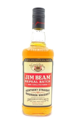 Jim Beam Repeal Batch Prohibition Bourbon Whiskey