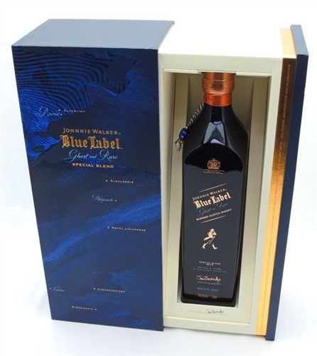 Johnnie Walker Blue Ghost and Rare