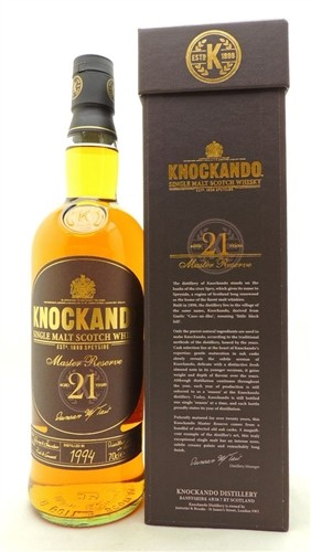 Knockando Scotch 21 Years Old Single Malt Scotch Whisky