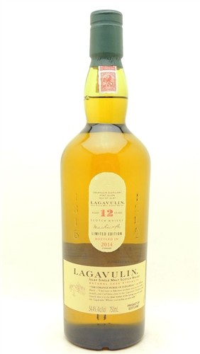 Lagavulin 12 Years Old Single Malt Scotch Cask Strength