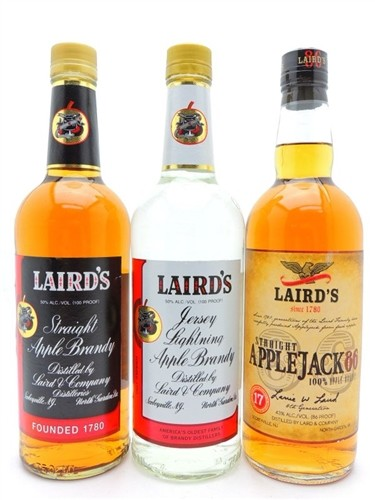 Laird's Apple Brandy Collection