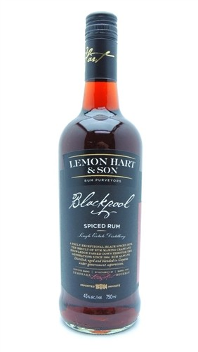 Lemon Hart Blackpool Spiced Rum