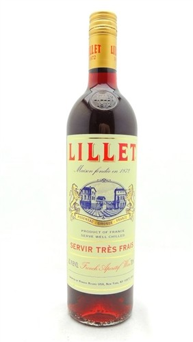 Lillet Rouge French Aperitif Wine