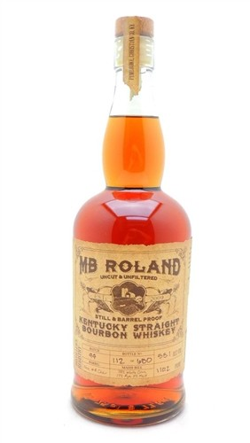 MB Roland Bourbon Whiskey