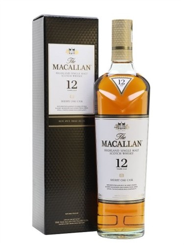 Macallan 12 Years Old Sherry Cask Scotch