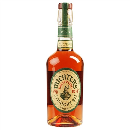 Michters Single Barrel Rye Whiskey