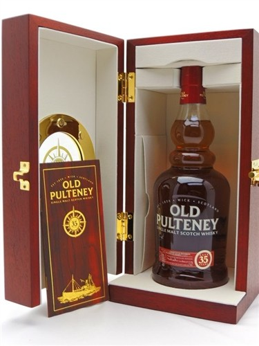 Old Pulteney Scotch 35 Years Old