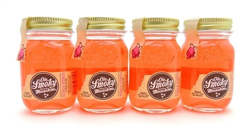 Ole Smoky Hunch Punch Moonshine Four Miniatures