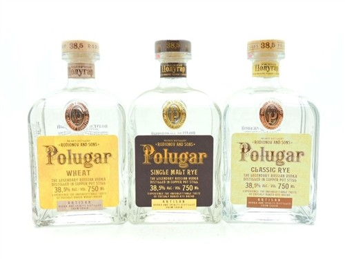 Polugar Vodka Collection